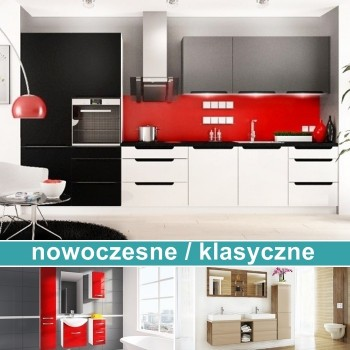 Kuchnie i łazienki