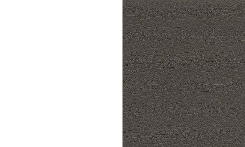 Biały / ekoskóra cayenne 1118 dk grey