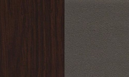 Wenge  / ekoskóra cayenne 1118 dk grey