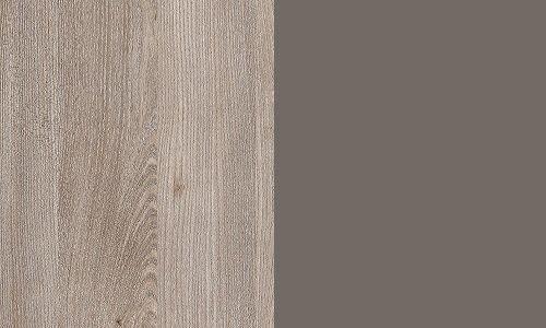 Dąb nelson / szary mat N92