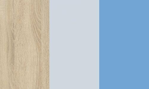 Sonoma jasna / błękit / niebieski