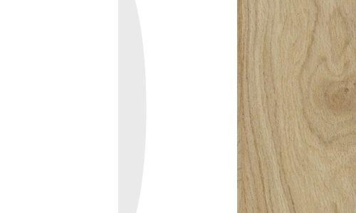 Biały / biały połysk / dąb camargue