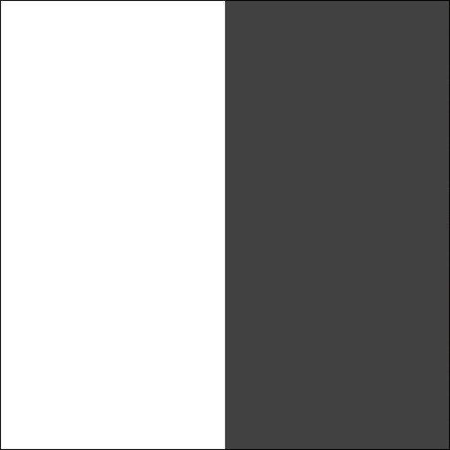 Biały / antracyt