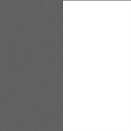 Antracyt / biały mat