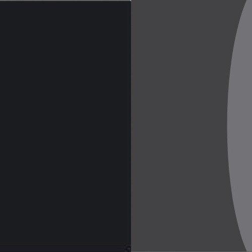 Czarny / szare szkło