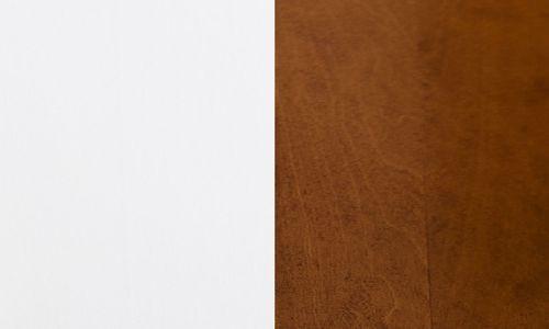 Brzoza barwiona na biało / brzoza lakierowana na koniak